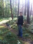 Wandern mit Huskies