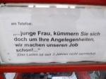 Telefonzelle vor dem Rathaus Tiergarten
